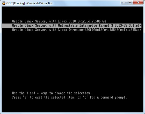 Howto install oracle linux 7.