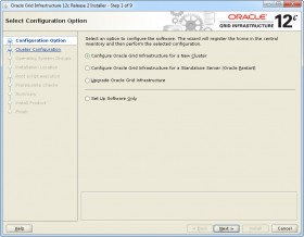 Oracle GI 12c R2 Installer - Step 1