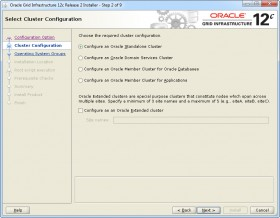 Oracle GI 12c R2 Installer - Step 2