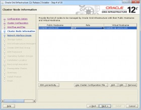 Oracle GI 12c R2 Installer - Step 4