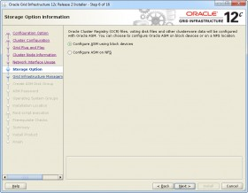 Oracle GI 12c R2 Installer - Step 6