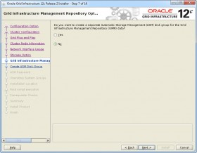 Oracle GI 12c R2 Installer - Step 7