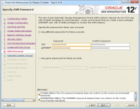 Oracle GI 12c R2 Installer - Step 9