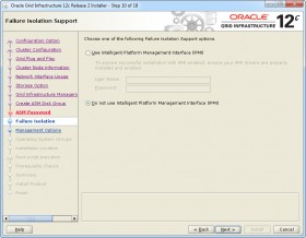 Oracle GI 12c R2 Installer - Step 10