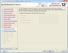 Oracle GI 12c R2 Installer - Step 11