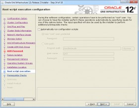 Oracle GI 12c R2 Installer - Step 14