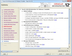 Oracle GI 12c R2 Installer - Step 16