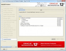 Oracle GI 12c R2 Installer - Step 17