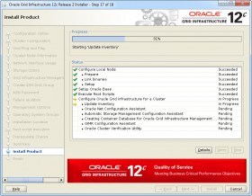 Oracle GI 12c R2 Installer - Step 17 -