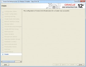 Oracle GI 12c R2 Installer - Step 18